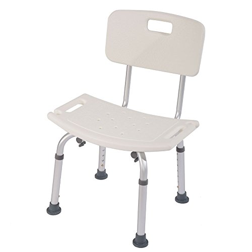 Mefeir Medical Shower Chair Bath Stool Transfer Bench Seat